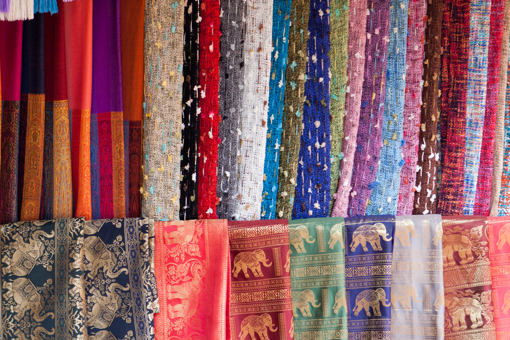 The Best Souvenirs From Thailand Thai Scarfs