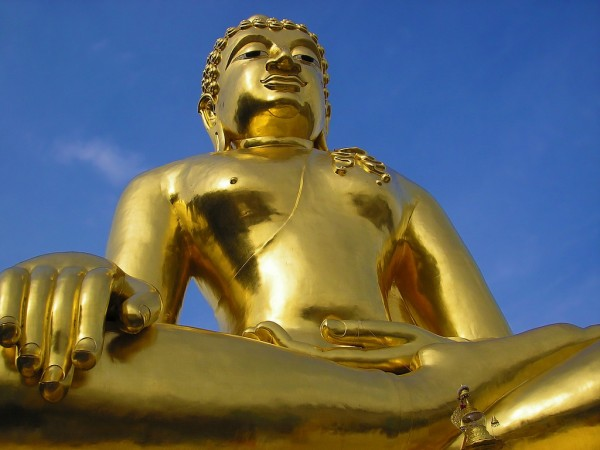 Golden Buddha in the Golden Triangle Rex Gray/Flickr