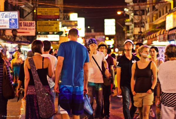 Khao San Road by night justin_vidamo/Flickr