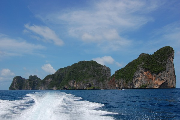 Koh Phi Phi limestone cliffs Alex Telford/Flickr