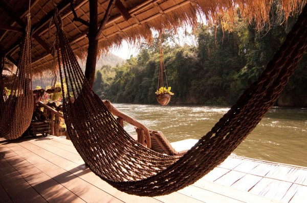 River Kwai Jungle Rafts Hotel hammock Mark Fischer/Flickr