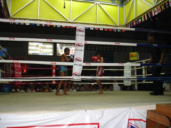 Phuket Thai boxing shodan/Flickr
