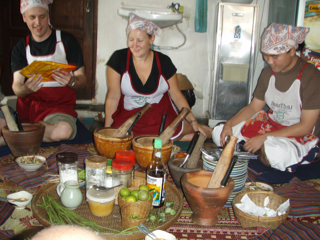 Take cooking classes in Bangkok  Thailand Travel Guides