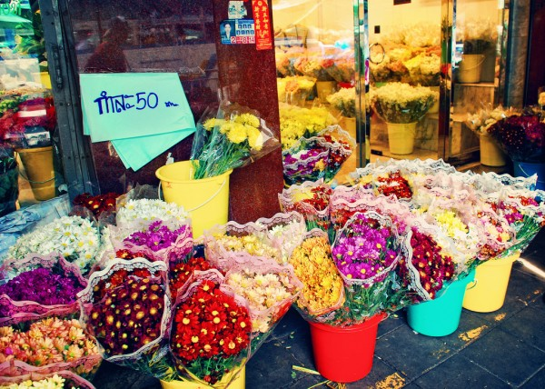 Flower Market, Bangkok Irene2005/Flickr