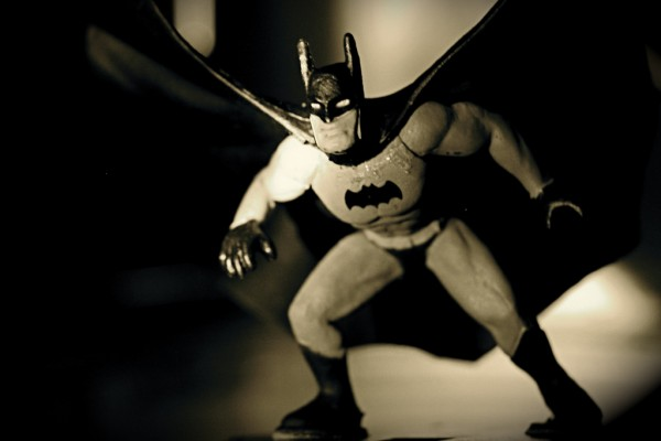 Miniature Batman toy puuikibeach/Flickr