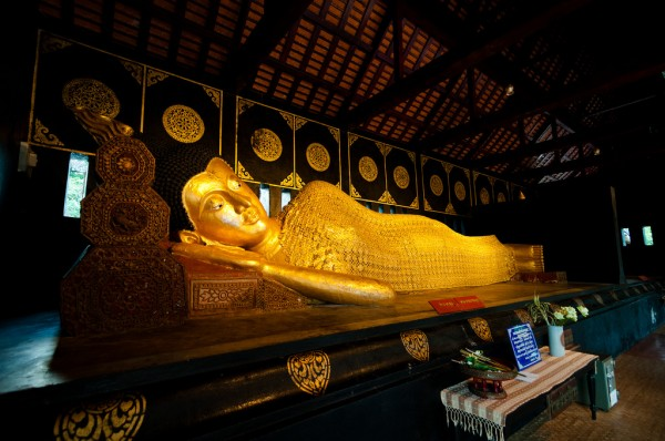 Chiang Mai Reclining Buddha Mark Fischer/Flickr