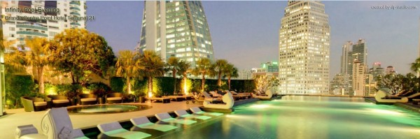 Infinity pool - Grande Centre Point Hotel Terminal 21