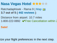 7 nights Bangkok vacation at Nasa Vegas Hotel under $1000