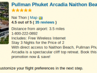 Luxury vacation at Pullaman Phuket Arcadia for $1512
