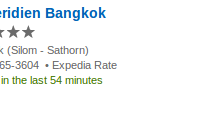 Le Meridien Bangkok luxury hotel for $108